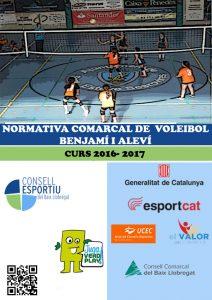 03- Portada Voleibol Benjamí i Aleví 16-17