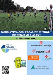 06- Portada Futbol 7 Benjamí a Aleví 16-17