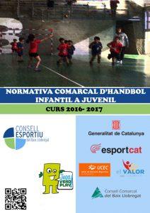 09- Portada Handbol Infantil a Juvenil 16-17