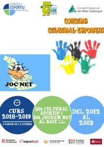 Cartell Cultural Esportiu + Joc Net