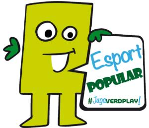 Verd Play Transparent Esport Popular