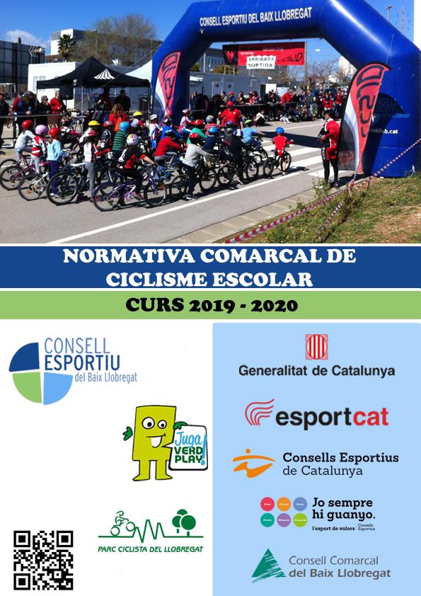 Portada Ciclisme Escolar 2020