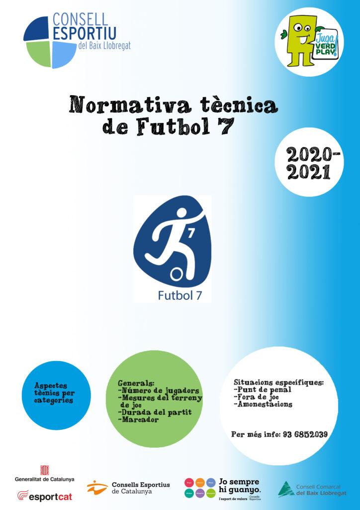 Plantilla pòster Portada Futbol 7 20-21 copia